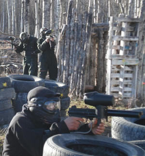 Paintball High Prarie
